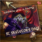 St Skeletor's Day
